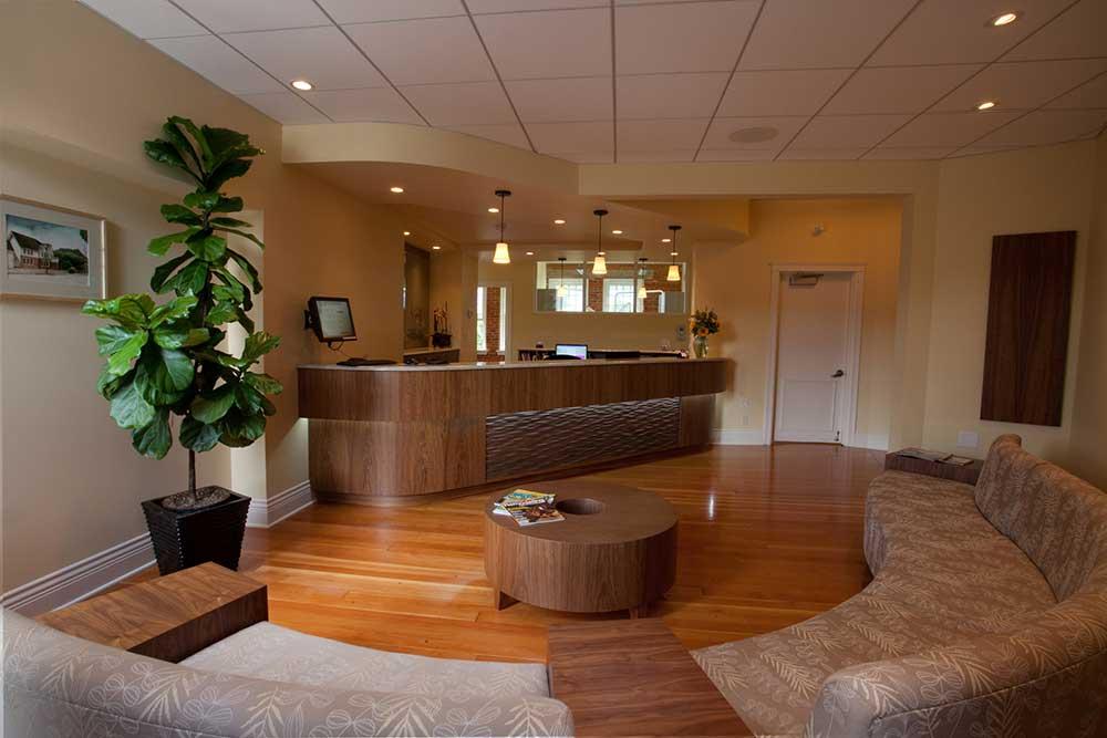 Acorn Dental Office - Reception